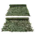 New 1*3m Artificial Ivy Leaf Fence Green Garden Yard Privacy Screen Hedge Plants Decorations