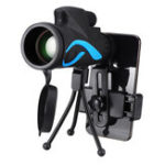 New 40×60 Monocular HD Optic BAK4 Day Night Vision Telescope With Tripod Phone Holder Outdoor Camping