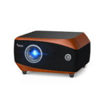 New PIQS F1 Pro DLP Projector Android 5.1 2GB+32G 1280 ANSI Lumen 1920×1080 Resolution 8000:1 Contrast Ratio 3LED Light Projector