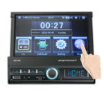 New  7 Inch 1 DIN Car Stereo Radio Touch Screen MP5 Player Bluetooth FM USB AUX In Dash