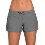 New Solid Color Beach Swimming Trunks