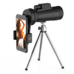 New IPRee® 12X50 Monocular HD Full Optic BAK4 Lens Day Night Vision Waterproof Telescope+Phone Holder+Tripod