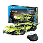 New Double Eagle Lamborghini Simulation Sports Car Building Blocks Toys Remote Control Building Car