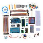 New MEGA 2560 Project Starter Kits With LCD1602 Servo Motor Ultrasonic Sensor For Arduino