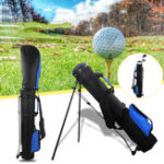 New Nylon Golf Stand Bag Practice Rod Storage Bag Carry Case Outdoor Sports Training Pouch