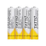 New 4Pcs ACE TATTU 1.2V 800mAh NiMH AAA Battery for RC Toys