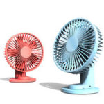 New Xiaomi VH Mini USB Desktop Clip Cooling Fan 3 Modes Wind Speed Cooler 2000mAh Outdoor Travel