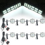 New 12V 60 LED Super Bright Cargo Interior Lights For Boat Trailer Lamp Marine