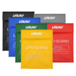 New URUAV Waterproof Explosion Proof Colorful Lipo Battery Safety Bag 30X23mm