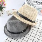 New Men Women Straw Knited Sunscreen Jazz Hat