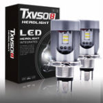 New Txvso8 Car LED Headlights Bulbs High Low Combo Beam Lamp H4/HB2/9003 50W 8500LM 6000K 2PCS