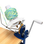 New 10 Ounce Practical Heavy Needlecraft Metal Yarn Fiber Wool Ball Winder Hand Operated Coil winder For Sewing Accessories Tools