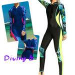 New Women Full Body Dive Skin Snorkeling Rush Guard Anti-UV Lycra Suit Thin Swimming Suit
