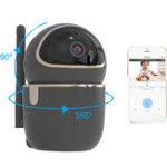 New WIFI Wireless HD 1080P IP Camera Night Vision Motion Sensor PTZ Two Way Intercom Security Camera