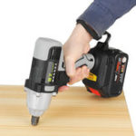 New 19800mAh Lithium Battery Wrench Multifunctional 300N.m Electric Cordless Impact Wrench