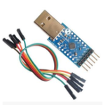 New CP2104 USB 2.0 to TTL UART 6pin Serial Converter Module STC PRGMR With Cables