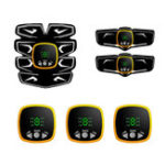 New KALOAD LCD Display USB Charging Abdominal Muscle Trainer ABS  Body Shaping Stimulator