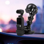 New Sunnylife OSMO Pocket Gimbal Expansion Bracket with Car Suction Mount Holder Adatper Accessories for DJI