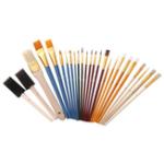 New Zhuting 2501 25Pcs Multi-function Nylon Practical Writing Brush Set