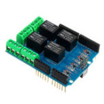 New 5pcs 4 Channel 5V Relay Module Relay Control Shield Relay Expansion Board For Arduino