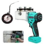 New Handheld Rechargeable Wire Cable Threading Machine With 15000mAh Lithium Battery