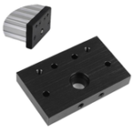 New Openbuilds C-Beam Aluminium End Face Mounting Plate Screw End Fixing Plate for 3D Printer CNC Part