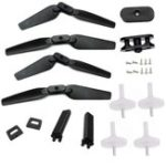 New Eachine E58 RC Drone Quadcopter Spare Parts Crash Pack Kits 2Pairs Propeller Blade w/ Clip Landing Gear