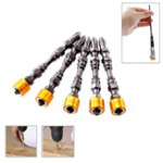 New 5/10pcs 65mm Magnetic Phillips Electric Screwdriver Bit Set PH2 Double Head Hex Shank With Magnetic Ring for Drywall Screws