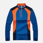 New Mens Sport Elastic Quick-drying Patchwork Tops