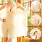 New Open Crotch Negative Ion Lining Lace Shapewear