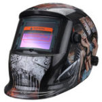 New Solar Power Automatic Dimming Welding Helmet Welder Mask With Head Band Black