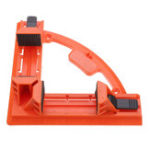 New Adjustable 90 Degree Angle Clamp Right Angle Clip Woodworking Ruler Picture Frame Carpentry Clamp