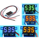 New Mini 0.36 Inch DC Current Meter DC0-999mA 4-30V Digital Display With Reverse Connection Protection Ammeter