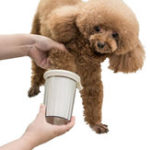 New Xiaomi Jordan & Judy Pet White Foot Clean Cup Cleaning Tool Silicone Washing Brush For Dog