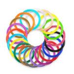 New 10M/Pack 20Colors 1.75mm ABS Filament For 3D Printing Pen Children DIY Part