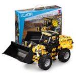 New Doublee CaDA Building Blocks Toys Engineering Vehicle Remote Control Crawler Excavator Big Crane Mixer Ttruck Bulldozer Boy Spelling Toy