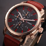 New CURREN 8194 Date Display Casual Style Men Wrist Watch
