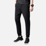 New Mens Outdoor Breathable Slim Fit Stretch Sport Pants