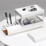 New Multi-functional Desktop Storage Box Creative Collection Storage Baskets for Office School Supplies