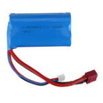 New Wltoys 7.4v 1500mAh 15C 2S Li-ion Battery T Plug for L212 L969 1/12 Rc Car Model Parts