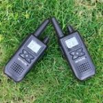 New RETEVIS RT41 NOAA Two Way Radio Walkie Talkie Licence-free FRS Radio USB Charging USA Weather Alert Radio Receiver