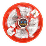 New 120mm 3 Pin LED Light CPU Cooler Cooling Fan for Intel 775/1155 AMD AM2/3