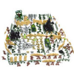 New 250 pcs Military Plastic Toy Soldiers Army Men Action Figure Accessories Play Set