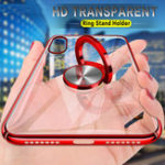 New Bakeey Ring Holder Color Plating Hard PC Protective Case For Xiaomi Redmi Note 7 / Redmi Note 7 Pro