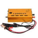 New 12000V AC Ultrasonic Inverter Electro Fisher Shocker Fish Stunner Booster Electronic Transformer