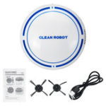 New Smart Auto Robot Vacuum Cleaner Sweep Super Strong Suction Mop Floor with Brush