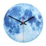 New 28cm Vintage Mute Round Wall Clock Antique Chic Retro Home Bedroom Kitchen Decor