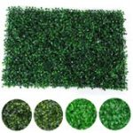 New 40x60cm Artificial Plant Wall Fence Vertical Garden Panel Decorations Foliage Hedge