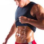 New Sweat Sauna Body Shaper Men Vest Thermo Neoprene Trainer Sliming Waist Belt Tracksuit Black
