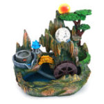 New 220V Mystical Peaceful Indoor Table Bench Top Water Feature Fountain Ornament Decorations